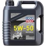 НС-синтетическое моторное масло для 4-тактных мотоциклов ATV 4T Motoroil 5W-50