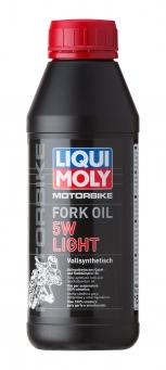 """Масло для амортизаторов мотоциклов синтетическое""""Liqui Moly Motorbike Fork Oil 5W Light"""""""