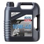 """Масло моторное полусинтетическое для мотоциклов четырехтактное""""Liqui Moly Motorbike 4T"""" 10W-40 Street"""