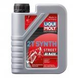 """Масло моторное синтетическое для мотоциклов двухтактное """"Liqui Moly Motorbike Synth 2T"""" 1л"""